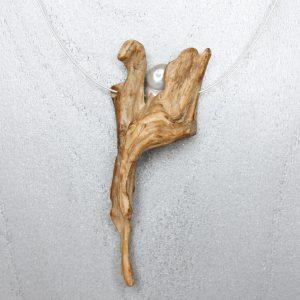Kette 'Engel' mit Süßwasserzuchtperle (959)