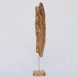 Skulptur Eiche auf Konifere - 20cm hoch (1031)